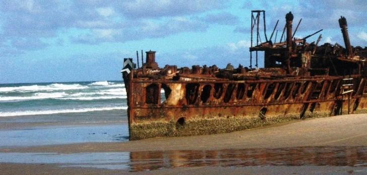 Shipwreck Vancouver Island